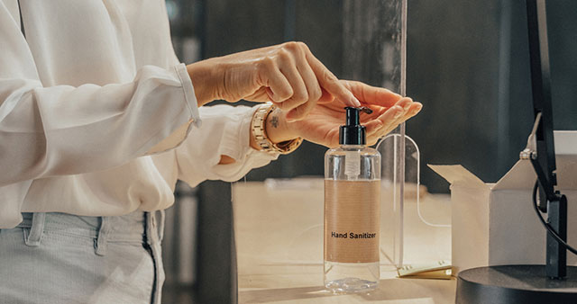 Do you provide hand sanitizer to guests?