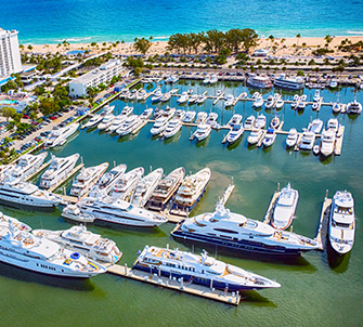 On Site Marina at Fort Lauderdale, Florida