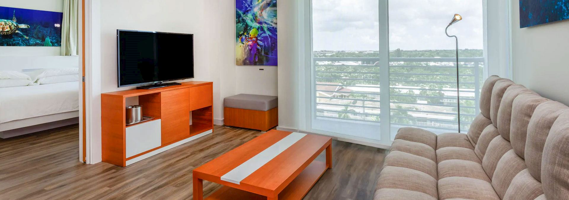 Rooms at TRYP by Wyndham Maritime Fort Lauderdale, Florida