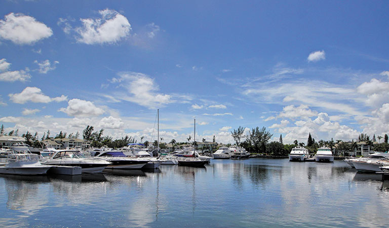 On-Site Marina At TRYP by Wyndham Maritime Fort Lauderdale, Florida